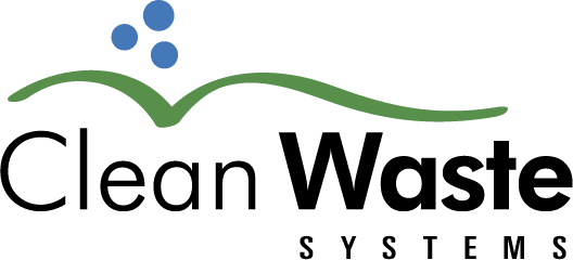 Clean waste logo