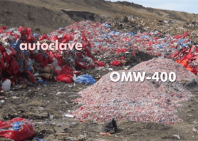COMPARISON waste at dump